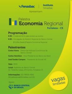 Palestra Economia Regional - Fortaleza - CE