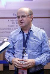 Federizzi falou sobre a realidade da área de Ciências Agrárias I, uma das maiores na atualidade (Foto: Haydée Vieira – CCS/CAPES)
