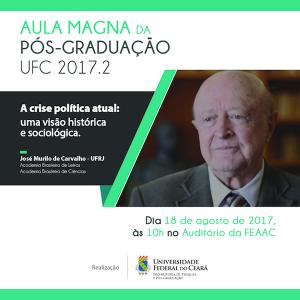 """José Murilo de Carvalho irá falar sobre """"A crise política atual: uma visão histórica e sociológica"""" (Foto: Divulgação)"""