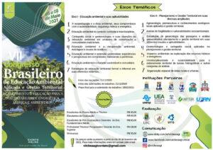 VII Congresso Brasileiro de Educação Ambiental Aplicada e Gestão Territorial
